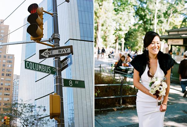 newyorkwedding,portra400,persewedding,columbuscircle
