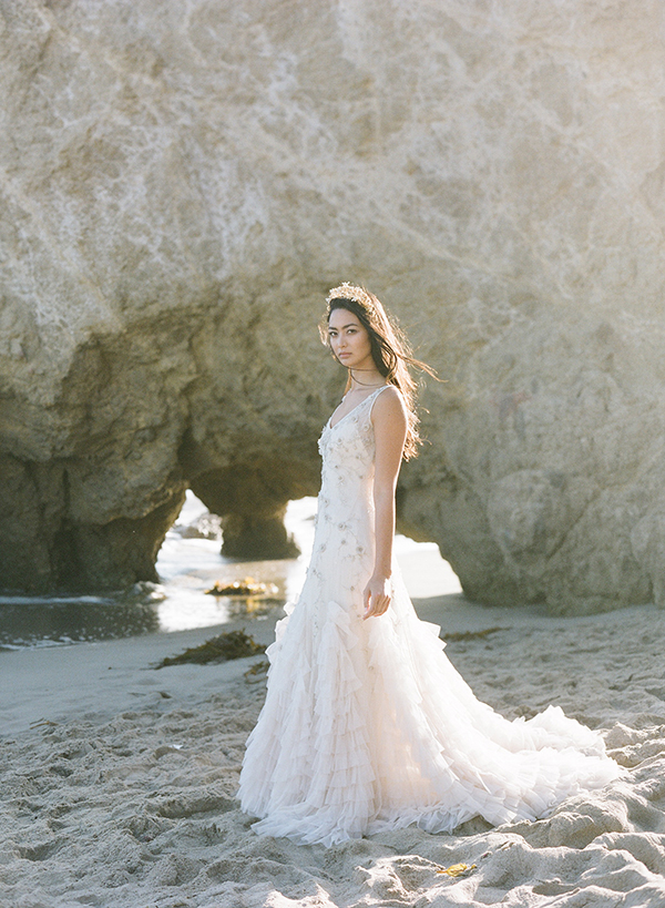 watercolorinspired, weddingshoot, Malibu, Fuji400h, gossamer,editorial