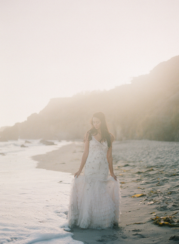 watercolorinspired, weddingshoot, Malibu, Fuji400h, editorial