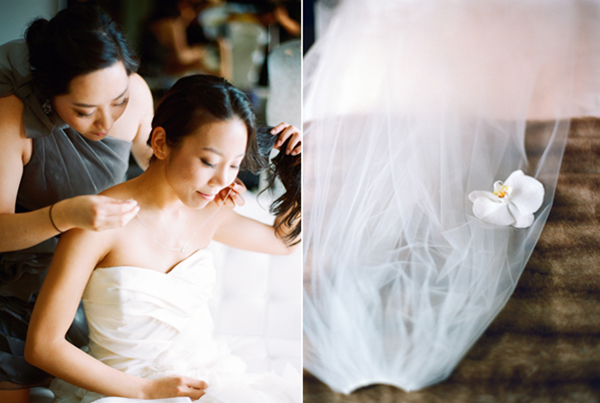 bridegettingready,veil,verwangdress,slshotelwedding